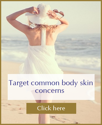 Target common body skin concerns